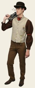 Steampunk Store - lots of neat things to buy, but also good ideas for making DIY steampunk outfit