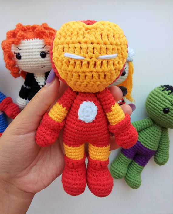 Free Superhero Toy Patterns | Crochet toys patterns, Superman ... | 707x570