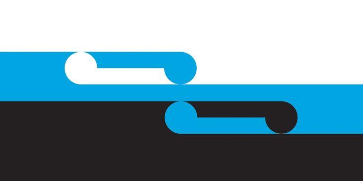 Aotearoa by Andy Bennett, tagged with: Black, Blue, White, Koru, Unity.