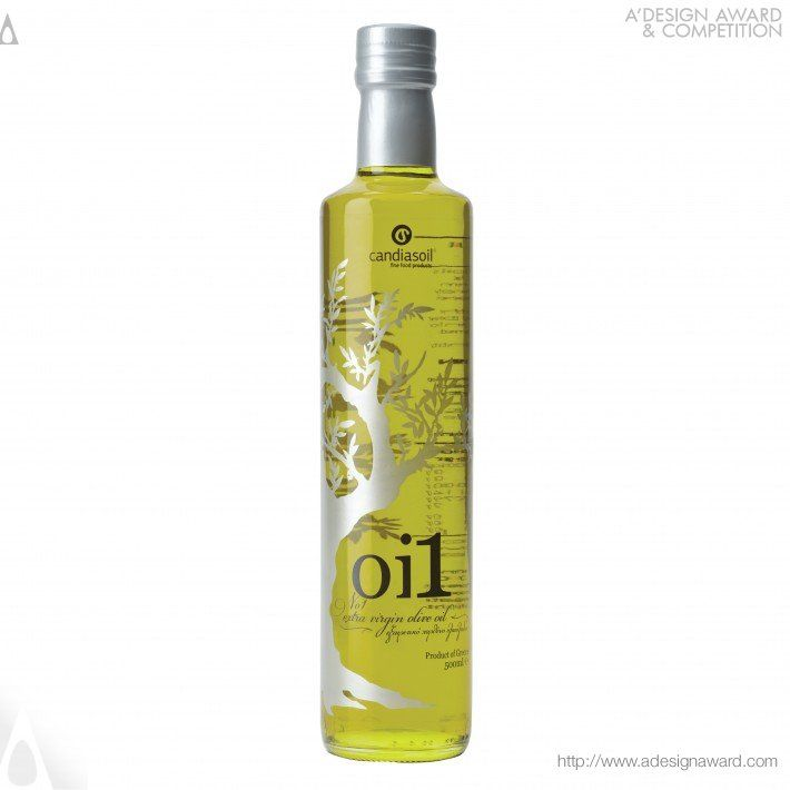 Oi1 For Candiasoil Olive Oil Packaging Design by Ioanna Drakaki PD