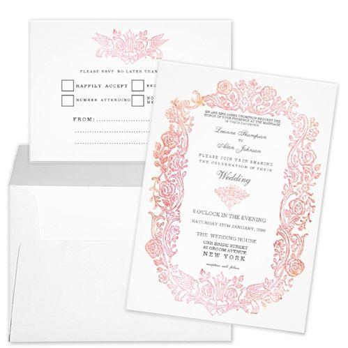 Fairytale Wedding Invitation Stationery Designs - Party Simplicity