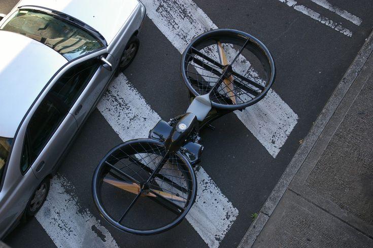 Hoverbike, une moto volante