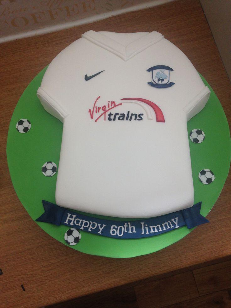 Preston north end cake