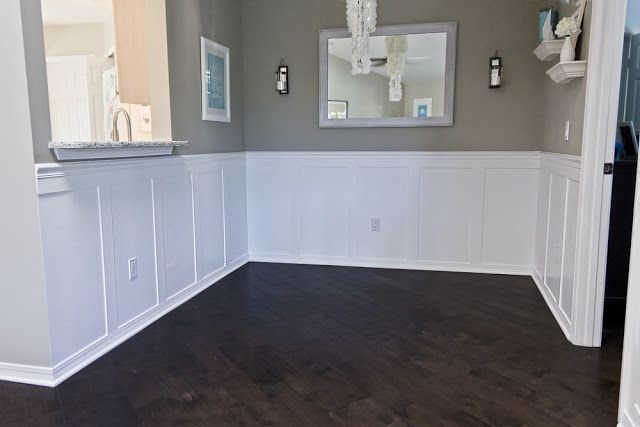 17 best images about wainscoting ideas on pinterest for Dining room wainscoting ideas