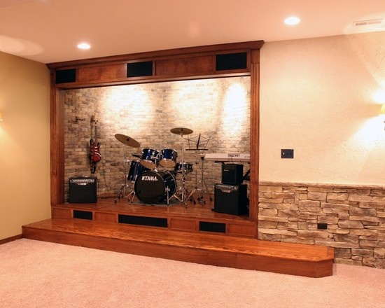 Stage in basement very cool kaylee 39 s board for Cool things to put in a basement