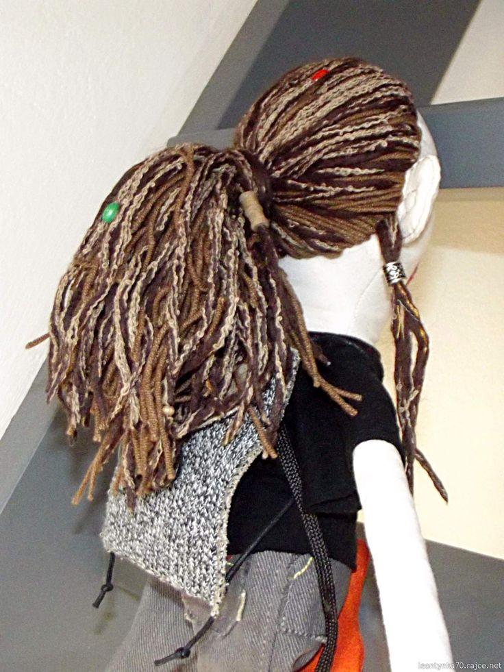 Vašek - Doll, sewed from photo.