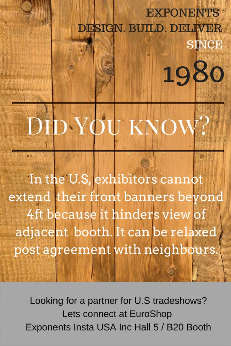 Important banner rule for U.S exhibitors #tradeshows #eventprofs
