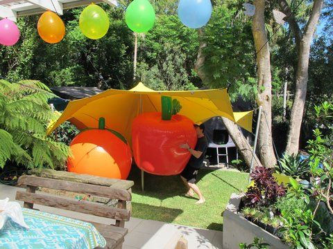 Fun Kids Party with a Freeform Marquee