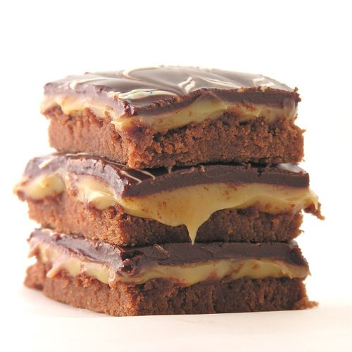 Caramel Fudge Brownies