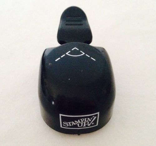 Stampin Up Ticket Corner Punch Rare Whale Style Retired Crafts And
