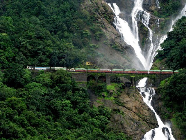 Water fall is a four-tiered waterfall, which is about 1015 ft high and 100 ft wide. It is one of the highest water falls in India and among the hundred highest waterfalls in the world. http://bit.ly/1OfAVK8
