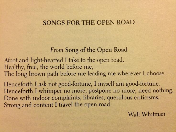 song of the open road Open in app vimeo.