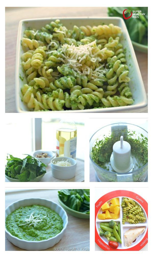 Spinach Pesto Recipe Plus Top 3 Sources of Iron for Kids - Need iron? Our three top sources here! http://www.superhealthykids.com/top-3-sources-of-iron-for-kids/