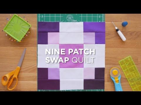 Watch the full tutorial here: http://bit.ly/9PatchSwap_QSYT Take a 9 - patch and turn it into something entirely new with this fun tutorial! Here at Missouri Star Quilt Co we like finding new things t