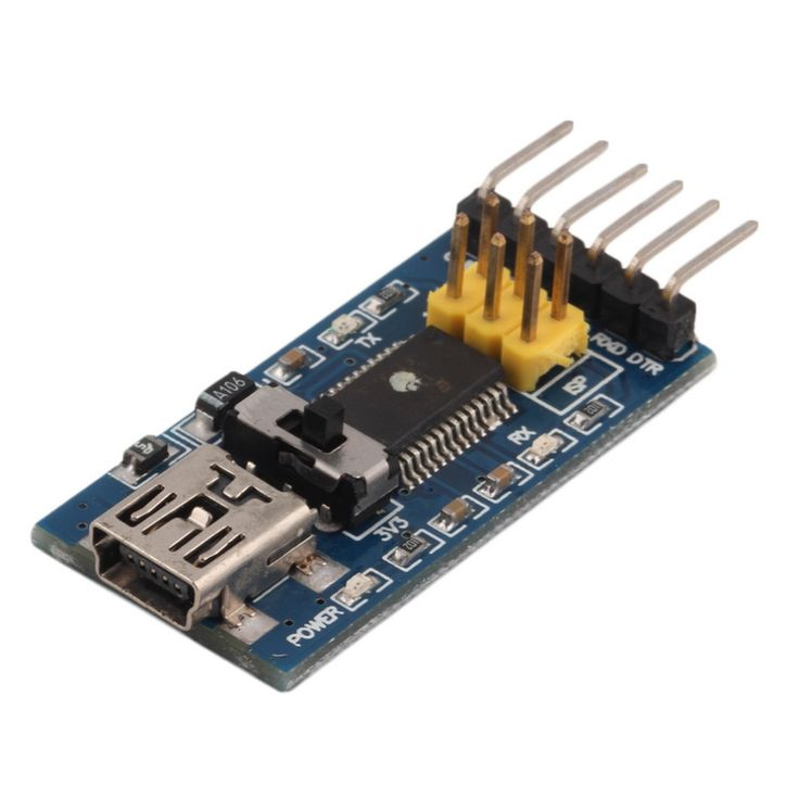 2017 Newest Basic Breakout Board For FTDI FT232RL USB to Serial IC For Arduino Hot Worldwide