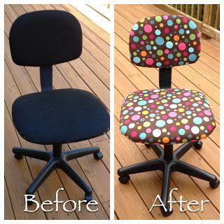 Kindergarten Teacher Chair Make Over!  You Can Do It Yourself.