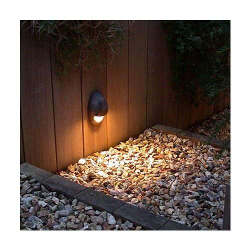 230 volt version of hunzas iconic mouse light pure led wall light for steps and paths free delivery from peter reid lighting