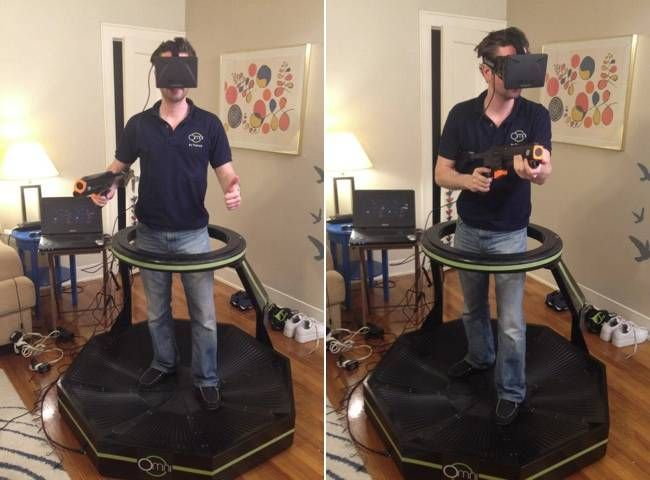 Omni – A Treadmill for Virtual Reality Applications