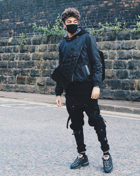top scarlord scarlxrd vest jeans ripped jeans menswear