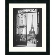 Amanti Art The Eiffel Tower from the Trocadero, 1925 by Gall, Framed Print Art - 22.19'' x 18.19''