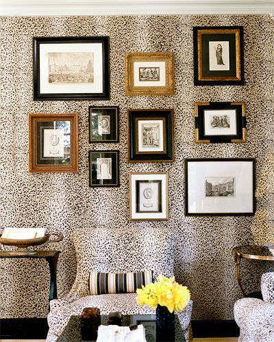 Leopard Living Room, Mary McDonald