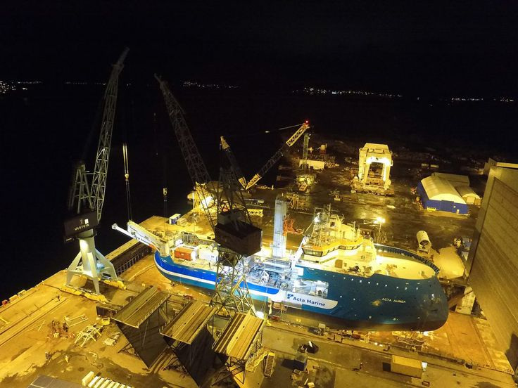Photo of the Day: Acta Auriga Taking Final Shape   Offshore Wind