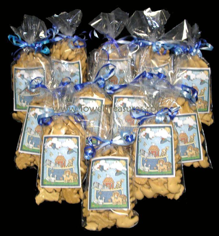 Noah's Ark- Serve animal crackers!