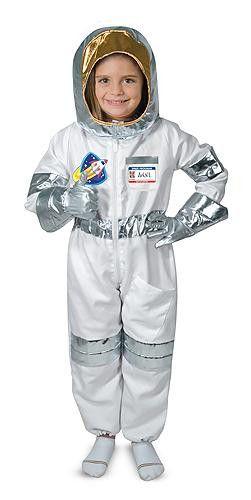 Costume d'astronaute, Français