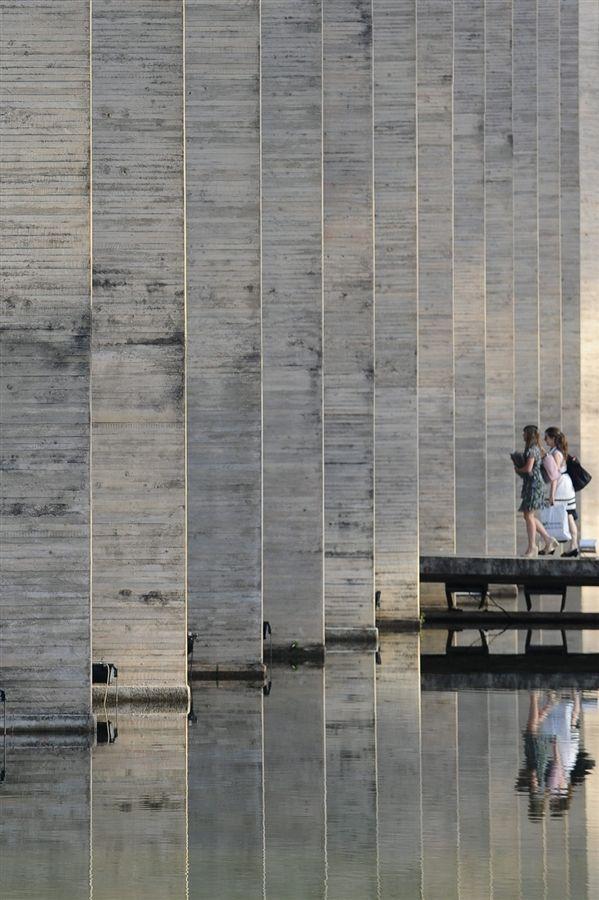 Itamaraty Palace, Brasilia, Oscar Niemeyer