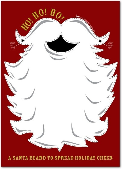 santa beard: Christmas Cards, Christmas Crafts, Cards Ideas, Christmas Ho, Christmas Creations, Beards Natural, Cards Santa, Christmas Decor, Christmas Ideas