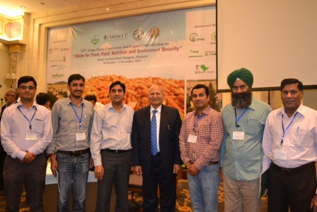 Farmers from NW India attended 12th Asian maize Conference