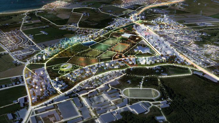 Gallery of Madla-Revheim Masterplan Proposal / MVRDV + Space Group