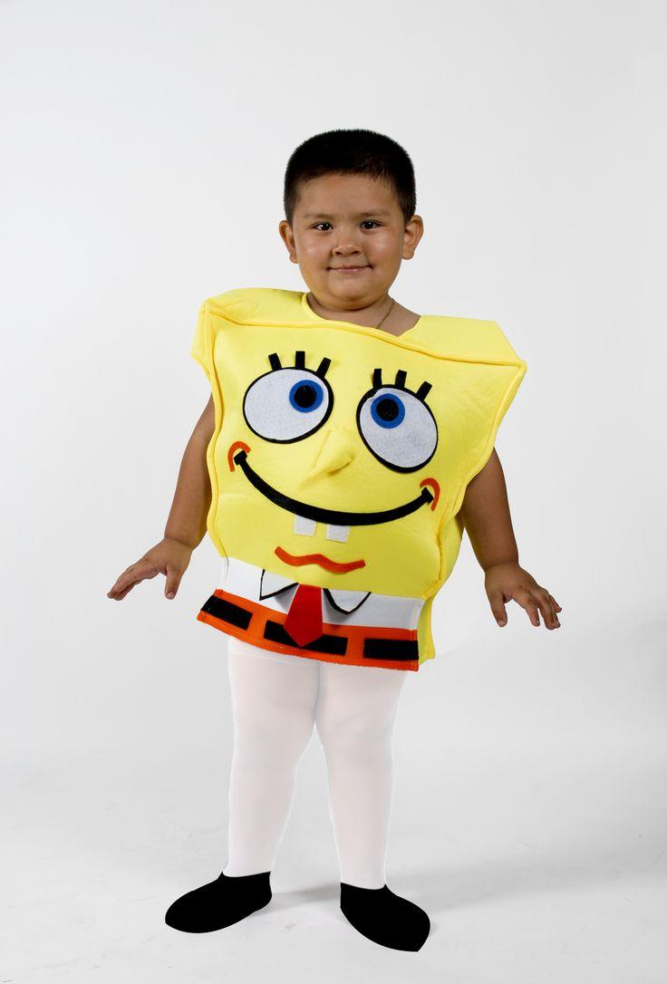sponge bob costume for kids on sale ebay link is below 1949 http - Ebaycom Halloween Costumes