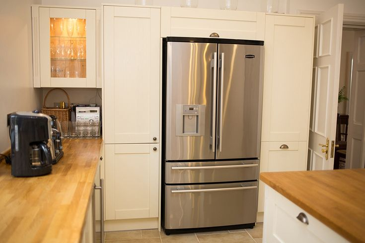 The Old Rectory - Large fridge / freezer with heaps of room for goodies - and an ice maker!