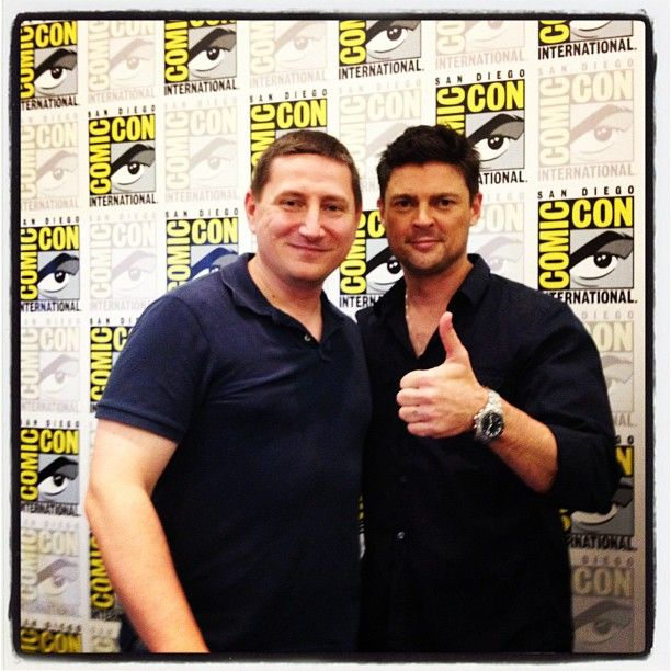 After the Masters of the Web panel with #Dredd3D, Karl Urban and @JohnCampea