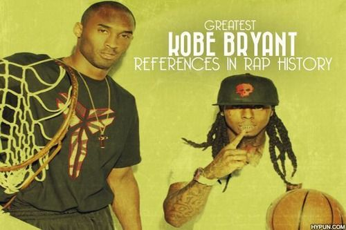 The TOP 10 Kobe Bryant references in famous RAP songs: http://www.hypun.com/4344