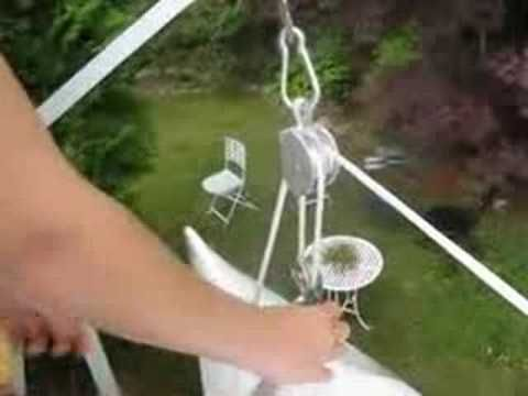 For other ideas watch how to make a Kayak Hoist - YouTube