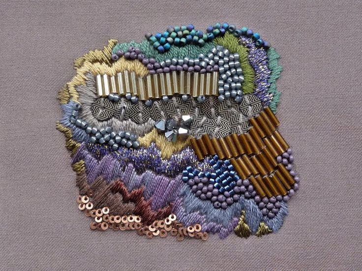 Amazing embroidery work by Anna Jane Searle (aka Anna Rack).