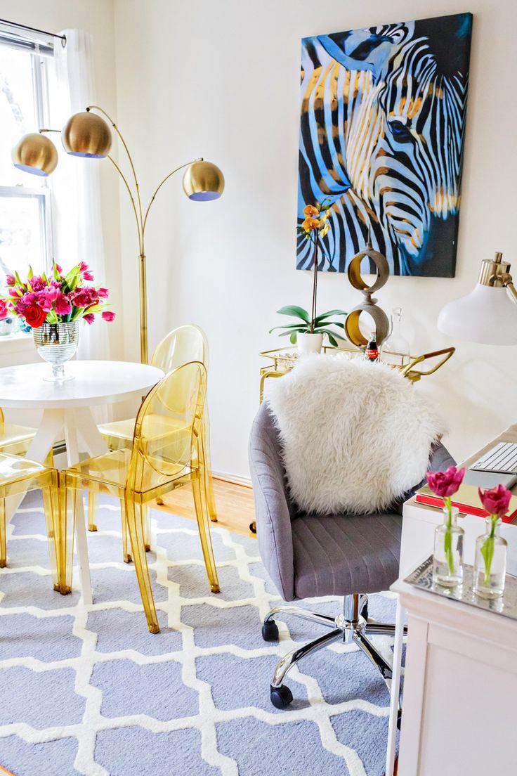 15 escritórios domésticos certo para inspirar criatividade | Design * Sponge