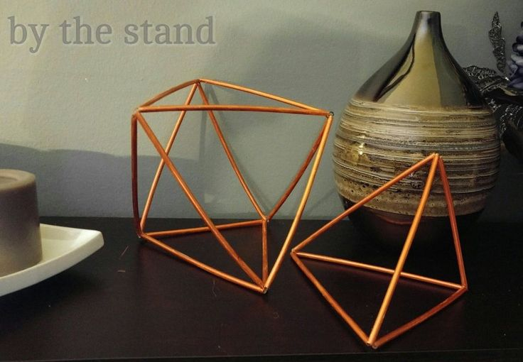 DIY Geometric Decor Shapes