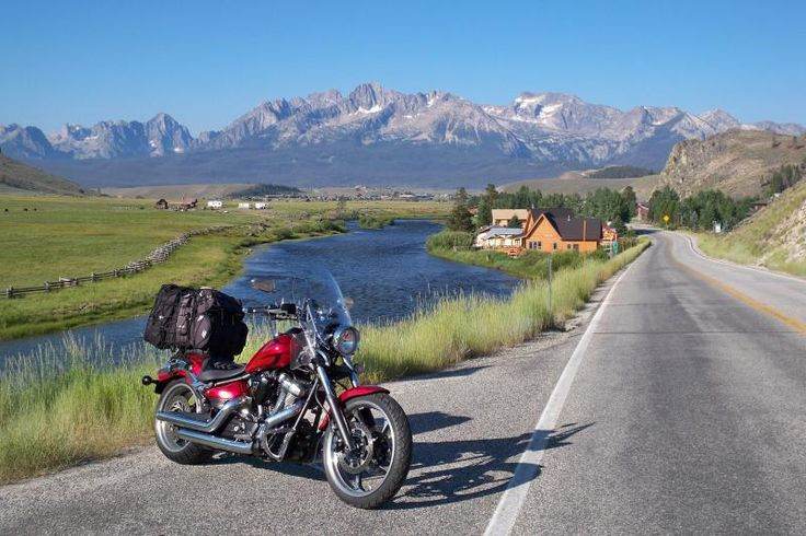 Salmon River/River of No Return | Idaho Motorcycle Roads and Rides | MotorcycleRoads.com