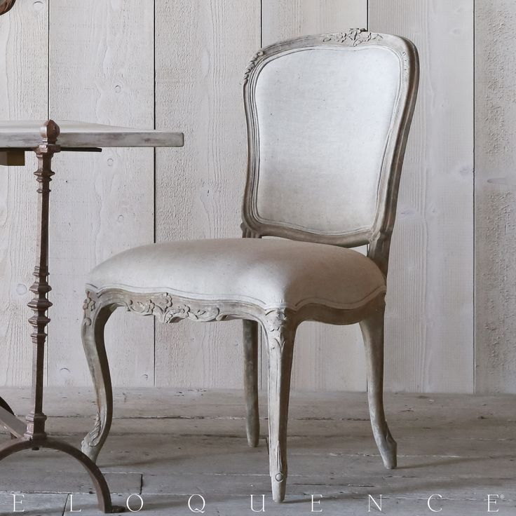 Colette Dining Chair In Beach House Natural Eloquence® Colette Dining Chair.  Gorgeous And Feminine Louis XV Shape With Fine Floral Carvings And Delicate  ...