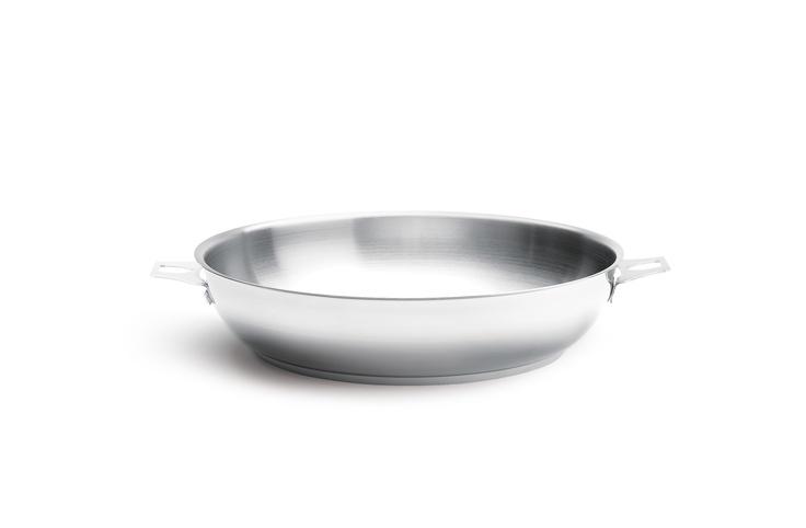 poele inox 18/10 manche amovible De Buyer, Gamme Twisty   Sain, durable et pratique !   #ustensiles #cuisine #poeles #cuisson