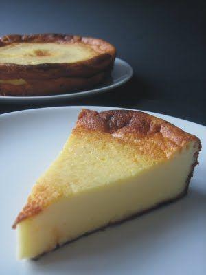 Receta TARTA DE QUESO AL HORNO para cocino y disfruto