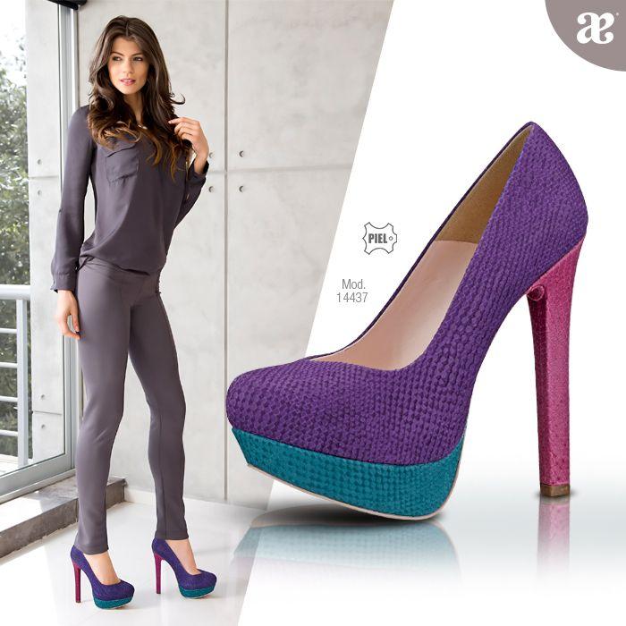 #Enero #Moda #Mujer #2014 #Color