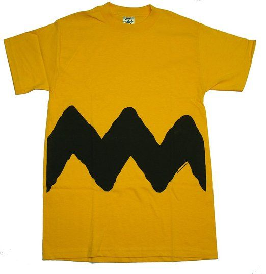 Charlie Brown shirt, with the arms of Vavasour. Blazon - Or, a fess dancetty sable.