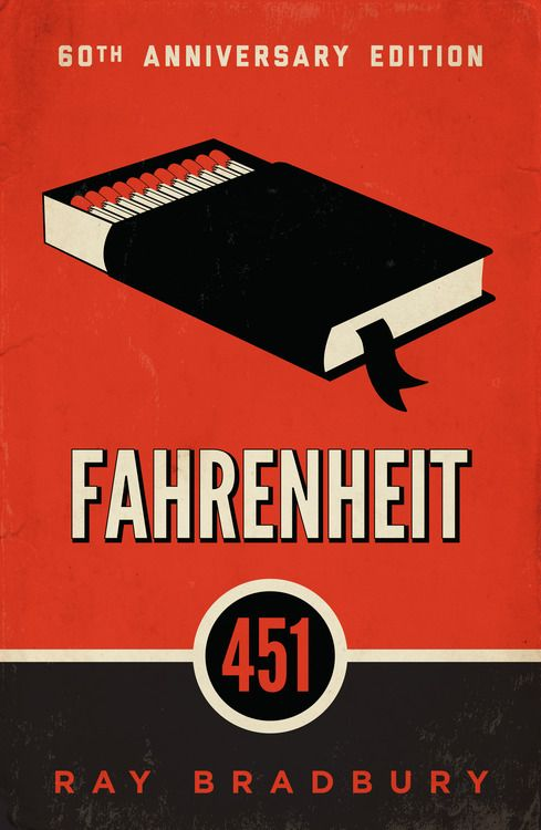 Fahrenheit 451 60th Anniversary cover by Matthew Owen