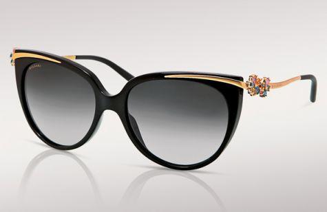 Accessory Crave: BVLGARI Crystal Cat Eye Sunglasses