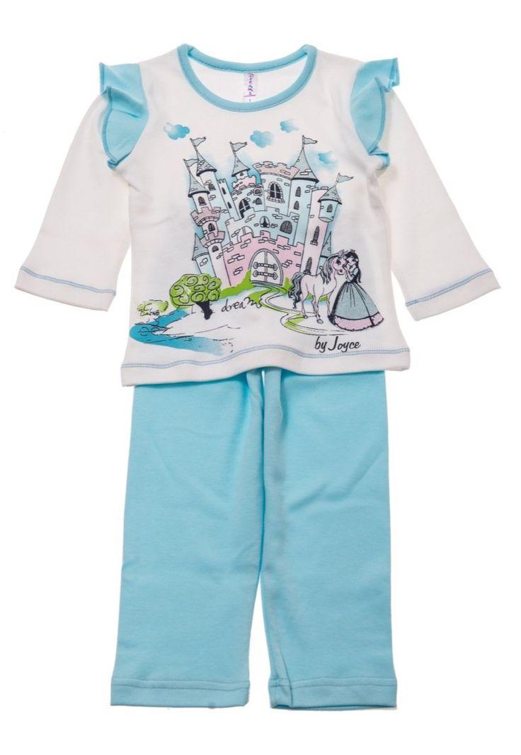 Dreams παιδική πιτζάμα «Princess in Castle»  €10,00