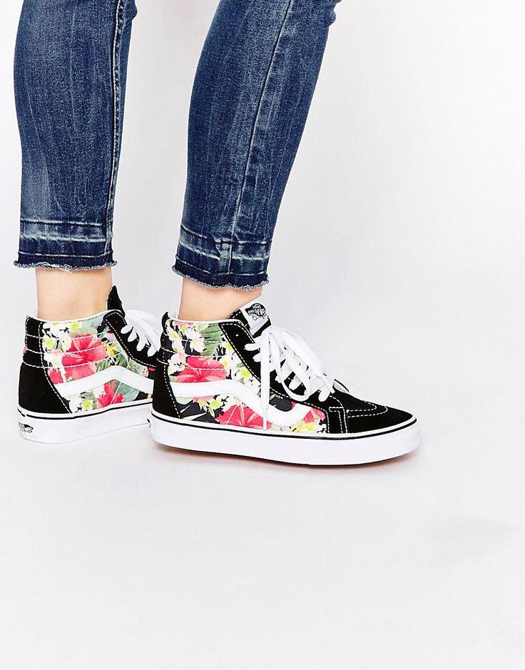 Zapatillas de deporte con estampado floral Sk8 Hi Reissue de Vans
